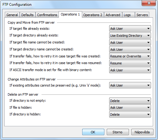 FTP Client: UNIX, MVS, VMS, IBM z/VM (CMS), NetPresenz, VxWorks, Netware